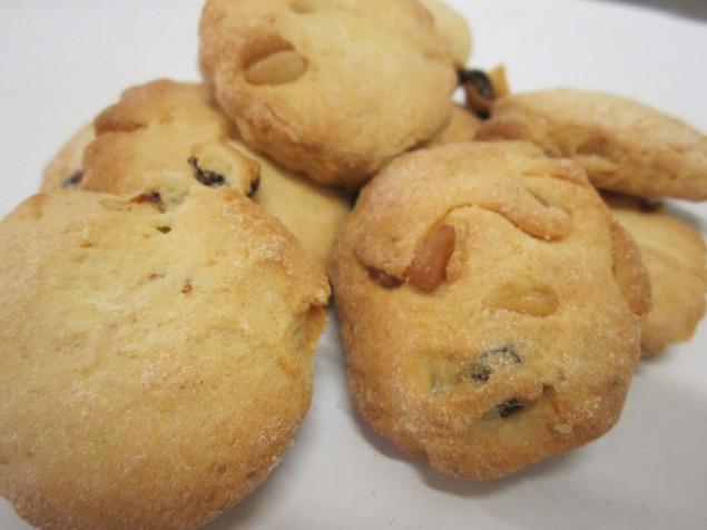 biscotti uvetta pinoli e yogurt